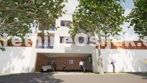 STROGI CENTAR GRADA.... 4-soban stan u izgradnji na 2.katu URBANE VILE...PRILIKA !!!